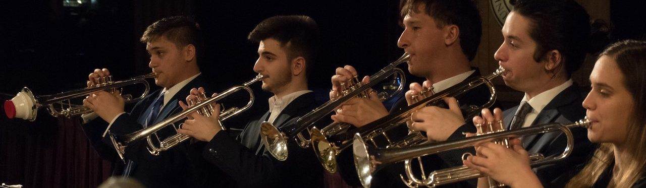UConn Jazz Ensemble Trumpets